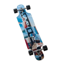 AREA SMU LONGBOARD DROP THROUGH SAN FRAN -