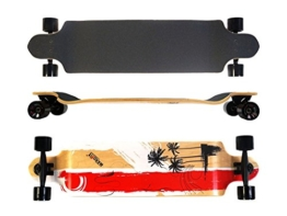MAXOfit Longboard Long Beach 9 Schichten Maple, 104 cm, 19119 -
