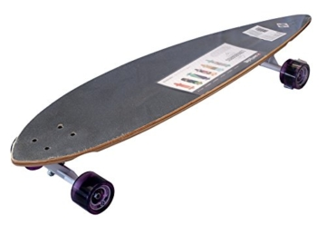 Streetsurfing Street Surfing Pintail Design: Cloudy Longboard, Mehrfarbig, 40 Zoll -