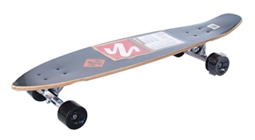 Streetsurfing Street Surfing Kicktail Design: Damaged Orange, 500236 Longboard, Damage Orange, 36 -