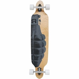 Atlantic Rift Longboard - 107x24cm - ABEC 9 - Drop Through Urban Art Komplettboard Motivauswahl -