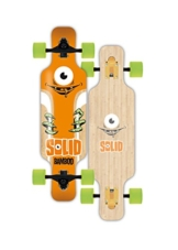Solid Longboard Kid Eye, Bamboo, 1201000162 -